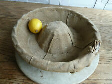 Antique French wicker bread basket (2)