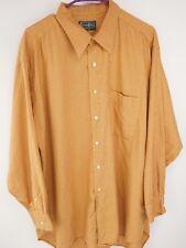 GITMAN BROS. Button Down Tight Check Oxford Dress Shirt Mens Size 17 1/2