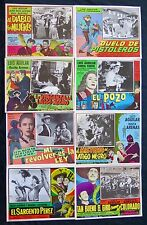 LUIS AGUILAR Rare 1950s 1960s 1970s COLLECTION LOBBY CARD PHOTO SET CHARRO