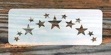 Forehead Stars Festival Paint Stencil 11cm x 4.5cm 190micron Washable Reusable