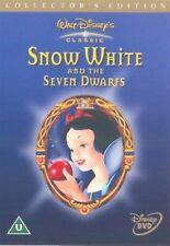 Snow White And The Seven Dwarfs - Adriana Caselotti - Brand New UK Region 2 DVD