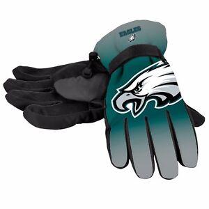 Philadelphia Eagles Gloves Big Logo Gradient Insulated Winter Unisex S/M L/XL