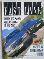 Fast Lane May 1991 BMW 750i, Westfield V8, Audi S2