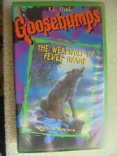 Goosebumps The Werewolf of Fever Swamp VHS Hard Clamshell 4394 Stine 1997 Scary