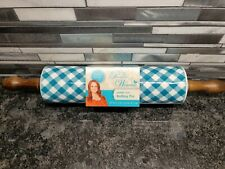 The Pioneer Woman Blue Charming Check Rolling Pin