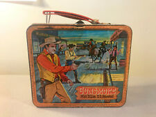 Vintage 1959 Gunsmoke lunchbox with Thermos Us Marshal Dillon by Aladdin