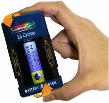 Portable Compact Rechargeable Alkaline Battery Tester AAA AA C D 9V Ni-MH Ni-CD