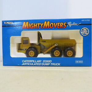 Ertl Catepillar D35D Articulated Dump Truck, Might Mover 1/50 CAT-2431-B