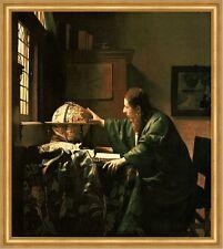 Der Astronom Vermeer Gelehrter Wissenschaft Studium Geograph Globus LW H A1 0292