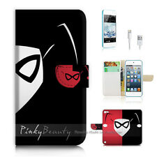 ( For iPod 5 / itouch 5 ) Flip Case Cover! harley Quinn P0137