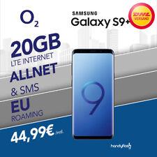 Samsung Galaxy S9+ Handy mit o2 Free M Vertrag 20GB LTE Internet nur 44,99€ mtl.
