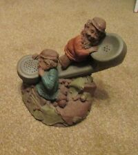 Tom Clark Gnome Figurine 1985 'Moore or Les' 911 Telephone Cairn Studio