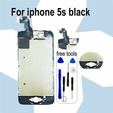 BlackLCD Touch Screen Digitizer Replacement+Home Button and Camera For iPhone 5S