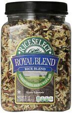 Rice Select Royal Blend, Texmati White, Brown, Wild, & Red Rice, 21 oz