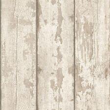 WHITE WASHED WOOD WALLPAPER - ARTHOUSE 694700 NEW PANEL