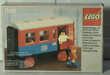 NEW Lego Trains Passenger Carriage 7818 NEW SEALED 1980'