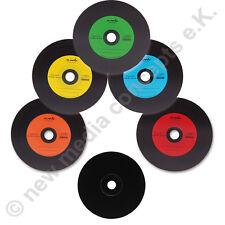 Vinyl CD Rohlinge Carbon,10 Stück ,700 MB zum archivieren, Dye schwarz 5 Farben