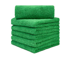 "12Pcs Microfiber Towel Auto Cleaning  Drying Polishing Detailing  16"" x 24"" OLV"