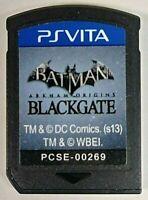 Batman: Arkham Origins Blackgate Sony Playstation Vita PS Vita Cartridge Only