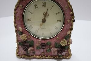 Spring Floral Peace Romantic - color and design Clock, Office Home