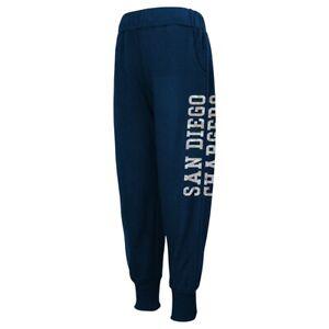 San Diego Chargers NFL Team Color Shimmering Harem Pants Girls Youth