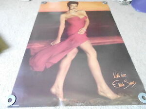 VINTAGE MAN CAVE WALL POSTER #16 1986 EMMA SIMS #15-447