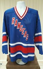 New York Rangers Home Large Jersey Sewn logos and Numbers by Dakka size M.