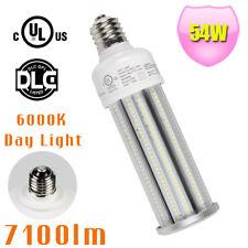 9pcs 54W LED Corn Bulb Replace 250Watt MH HPS Garage Gym Highbay Light E39 6000K