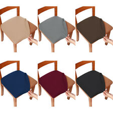 2/4/6pc Chair Covers Dining Room Jacquard Stretch Slipcover Seat Cover Protector