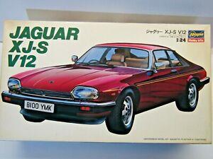 Hasegawa Vintage 1:24 Scale Jaguar XJ-S Road Car Model Kit New - Kit #CA005:1500