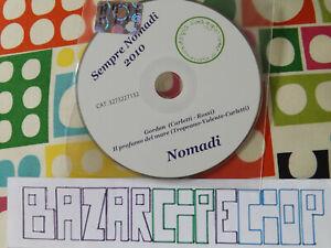 NOMADI CD Sempre Nomadi 2010 Promo Fans Club