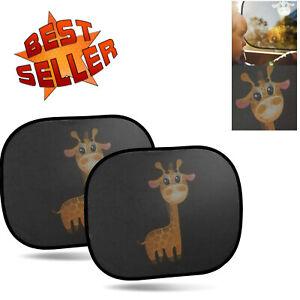 Sonnenschutz Auto Sonnenblende Auto Universal Sonnenschutz Kinder Giraffe