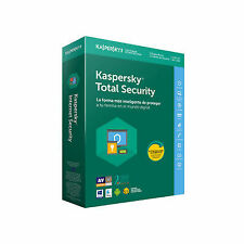 Kaspersky 2018 antivirus total Security 3 licencias