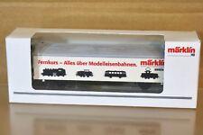 MARKLIN MäRKLIN M0125 SONDERMODELL Hbils SEMINAR FERNKURS WAGON nq