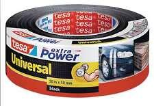 tesa Reparaturband extra Power Universal schwarz 50m X 50mm
