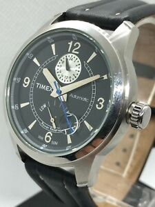 Timex Automatic WR 50m with Power Reserve & 24h Sub-Dial