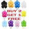 25 X Latex PLAIN BALLOONS helium Quality Party BALOONS Birthday Wedding BALLONS