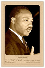 MARTIN LUTHER KING JR Civil Rights Champion Collectible CDV Photograph RP