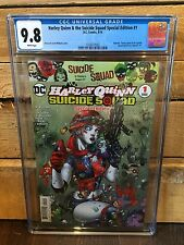 HARLEY QUINN & THE SUICIDE SQUAD SPECIAL #1 CGC 9.8 NM/MT JIM LEE (ID 7384)