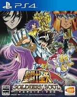 Saint Seiya Soldiers Soul PlayStation 4 Japanese Ver.
