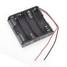 Battery Box Slot Holder Case for 4 Packs Standard AA 2A Batteries Stack 6V OK