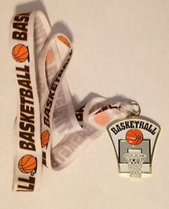 Basketball Medal w/ Ribbon