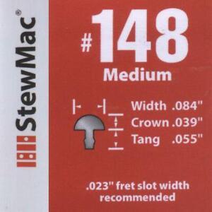 Medium / Medium Fret Wire (#148) 1ft, for Electric / Acoustic / Classical Guitar