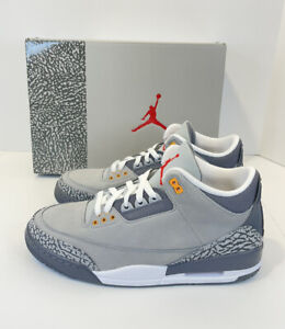 Air Jordan 3 Retro Cool Grey 2021 Size 10 CT8532 012
