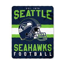 "New Style Football Seattle Seahawks Fleece blanket Soft Throw 50"" x 60"""