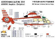 PMA Decal 1/48 Eurocopter SA365 / AS365N3 Dauphin  in Taiwan