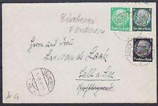 DR ZD W 69, 512 MIF su lettera, GEL. cibo-cellulari al lago 15.06.1938 pressione insieme
