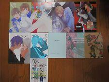 YAOI BL Doujinshi for all ages Japan Set of 10 books Manga Novel HTF Excellent J