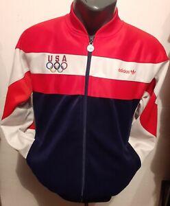 Vintage USA Olympic team jacket authentic adidas tracksuit S