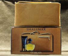 GUERLAIN SHALIMAR  EDT 50 ML 1.7 FL.OZ SPRAY + BODY LOTION 100ML 3.4 FL.OZ.+ BAG